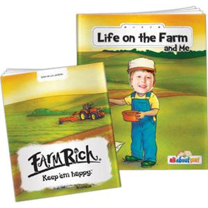 """""""Life On The Farm And Me"""" Children's Activity Book"""