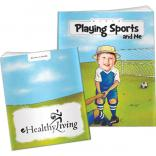 """Playing Sports And Me"" Children's Activity Book"