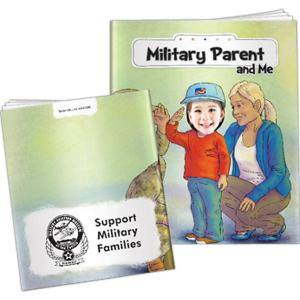 """""""Military Parents And Me"""" Children's Activity Book"""