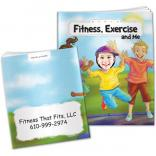 """Fitness, Exercise And Me"" Children's Activity Book"