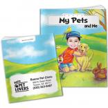 """My Pets And Me"" Children's Activity Book"