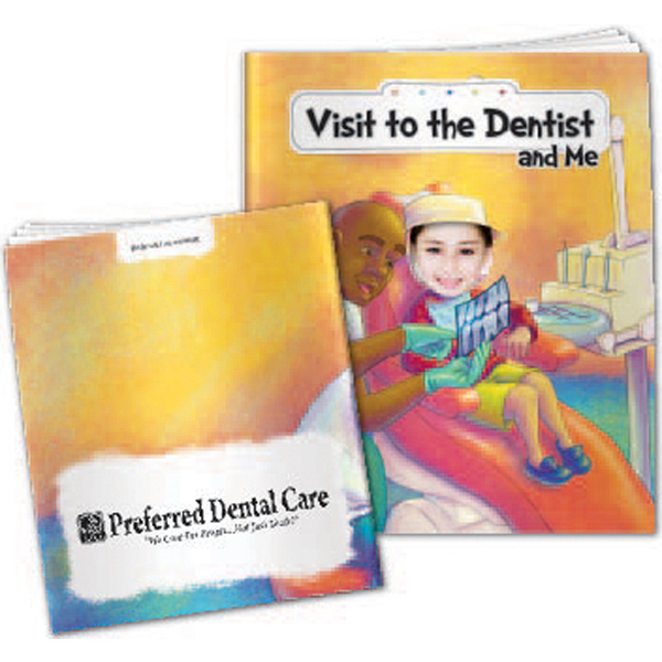 """""""Visit To The Dentist And Me"""" Children's Activity Book"""