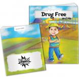 """Drug Free And Me"" Children's Activity Book"
