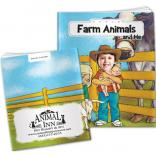 """Farm Animals And Me"" Children's Activity Book"