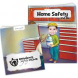 """Home Safety And Me"" Children's Activity Book"