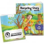 """Recycling Story And Me"" Children's Activity Book"
