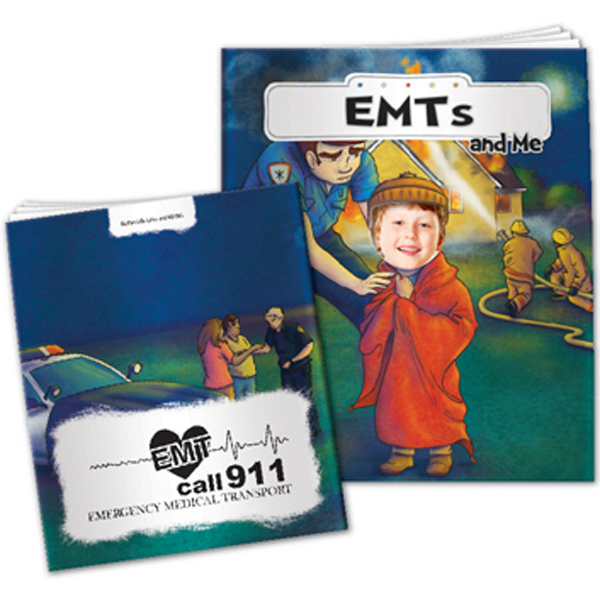 """EMTs And Me"" Children's Activity Book"