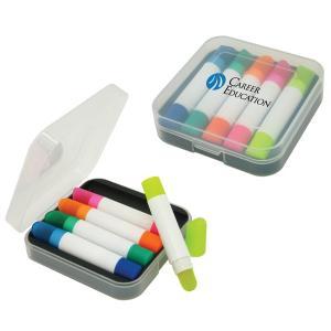 5 Pack Wax Highlighter Set