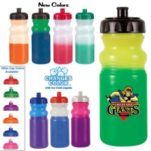 Color Changing 20 oz. Cycle Water Bottle