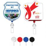 Full Color Custom Shape Retractable Badge Holder