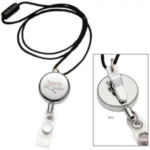 Dual Purpose Metal Badge Reel