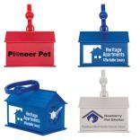 House Shaped Dog Waste Bag Dispenser