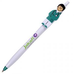 Pen with Nurse Shaped Clip