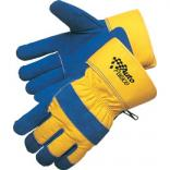 Blue/Yellow Thermo Safety Gloves