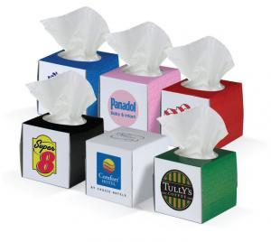 Mini Square Color Tissue Box