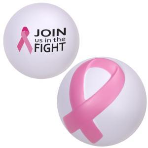 Breast Cancer Awareness Stress Ball