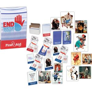 Match Book Style First Aid Kit