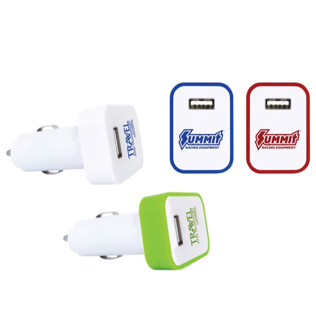 USB Car Charger And LED Light