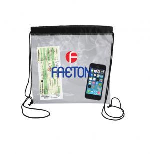 Transparent Drawstring Backpack