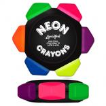Fluorescent Six Color Crayon Wheel