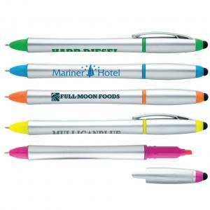 Tri-Function Stylus Highlighter Pen