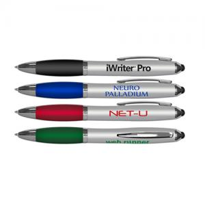 iWriter Pro Stylus & Twist Retractable Ballpoint Pen