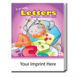 """Fun With Letters"" Coloring Book"