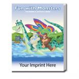 """Fun With Monsters"" Coloring Book"