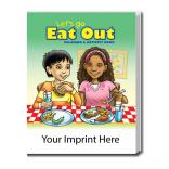 """Let's Go Eat Out"" Coloring Book"