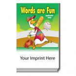 """Words Are Fun"" Activity Pad"