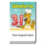 """Subtraction Fun"" Activity Pad"