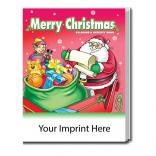 """Merry Christmas"" Coloring Book"