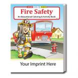 """Fire Safety"" Coloring Book"