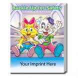 """Buckle Up For Safety"" Coloring Book"