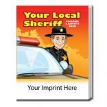 """Your Local Sheriff"" Coloring Book"