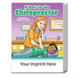 """A Visit To The Chiropractor"" Coloring Book"