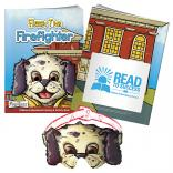 """Flash The Firefighter"" Coloring Book w/ Mask"