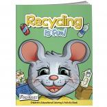 """Recycling Is Fun"" Coloring Book w/ Mask"