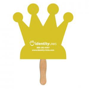 Crown Shaped Hand Fan
