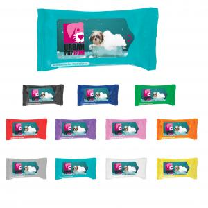 Pet Paw Wipes in Soft Pack