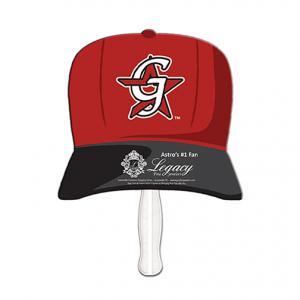 Baseball Hat Shaped Sandwich Fan