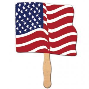 Flag Shaped Sandwich Fan