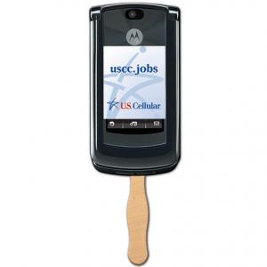 Cell Phone Shaped Sandwich Fan
