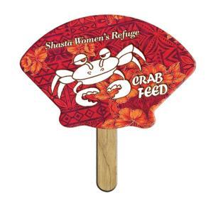 Shell Shaped Mini or Seed Stick Fan