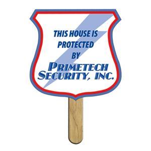 Shield / Shovel Shaped Mini or Seed Stick Fan