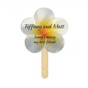Daisy Shaped Mini or Seed Stick Fan