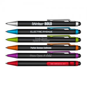 iWriter BOLD Stylus & Retractable Ball Point Pen