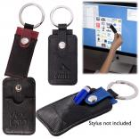 Key Fob with Cleaning Pad
