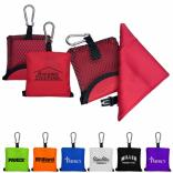 Microfiber Sports Towel with Pouch