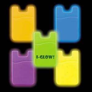 Glow Cell Phone Wallet Pocket